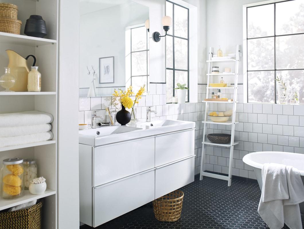 Bathroom Inspiration - Ikea tout Ikea Salle De Bains
