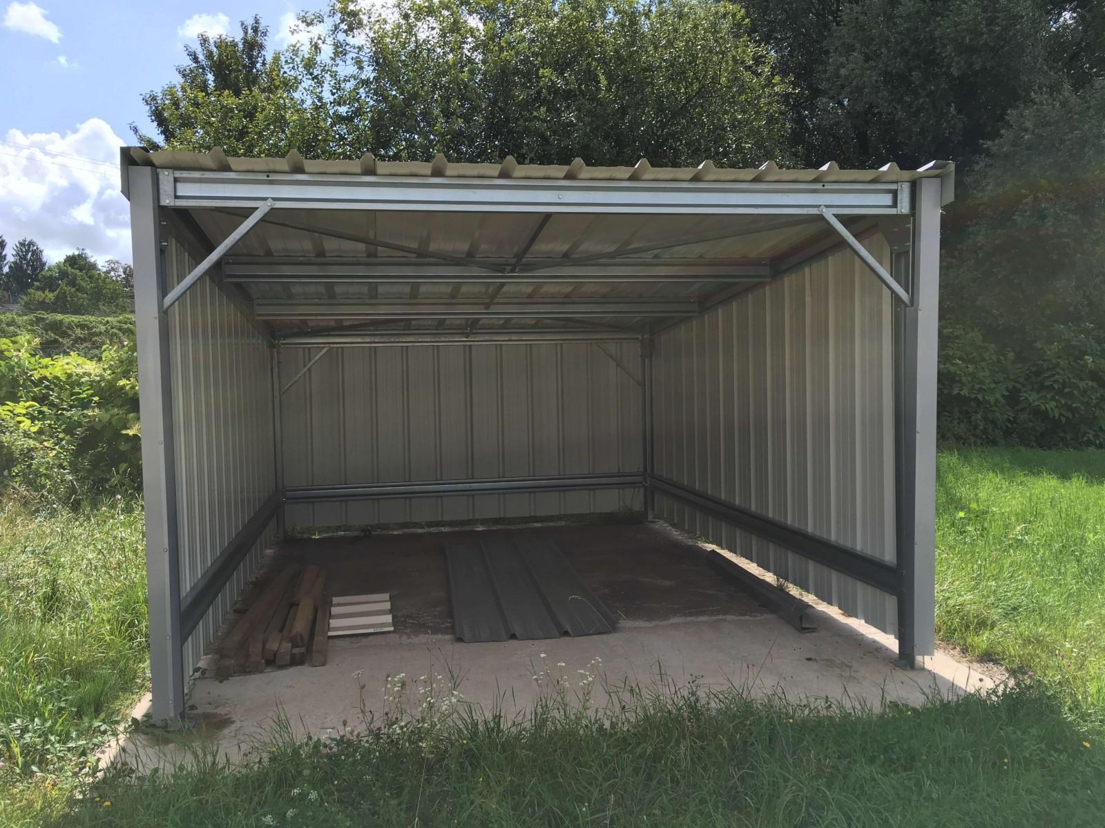 Batiment Industriel En Kit | Batiments Moins Chers concernant Abri De Jardin Galvanisé