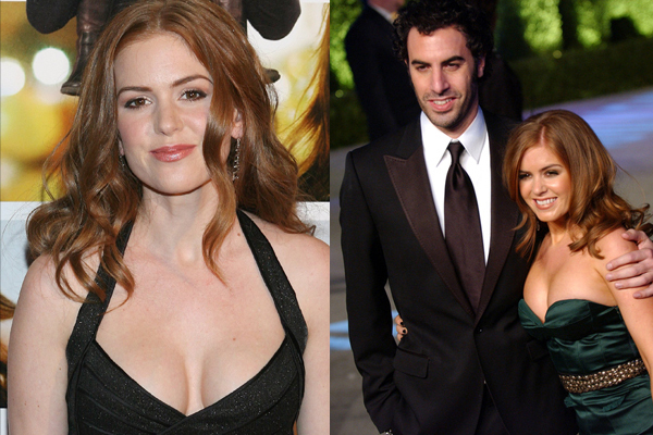 Being Married To Sacha Baron Cohen Is Not Easy,Says Isla tout Sacha Bourque En Couple