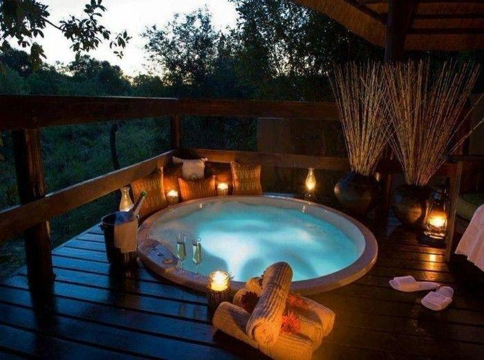 Belle Chambre Avec Jacuzzi Privatif - 40 Idées Romantiques encequiconcerne Chambre D Hotel Avec Jacuzzi Privé