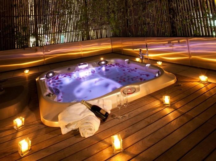 Belle Chambre Avec Jacuzzi Privatif - 40 Idées Romantiques intérieur Chambre D Hotel Avec Jacuzzi Privé