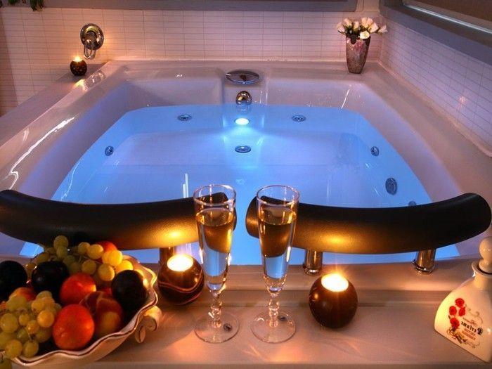 Belle Chambre Avec Jacuzzi Privatif - 40 Idées Romantiques tout Chambre D Hotel Avec Jacuzzi Privé