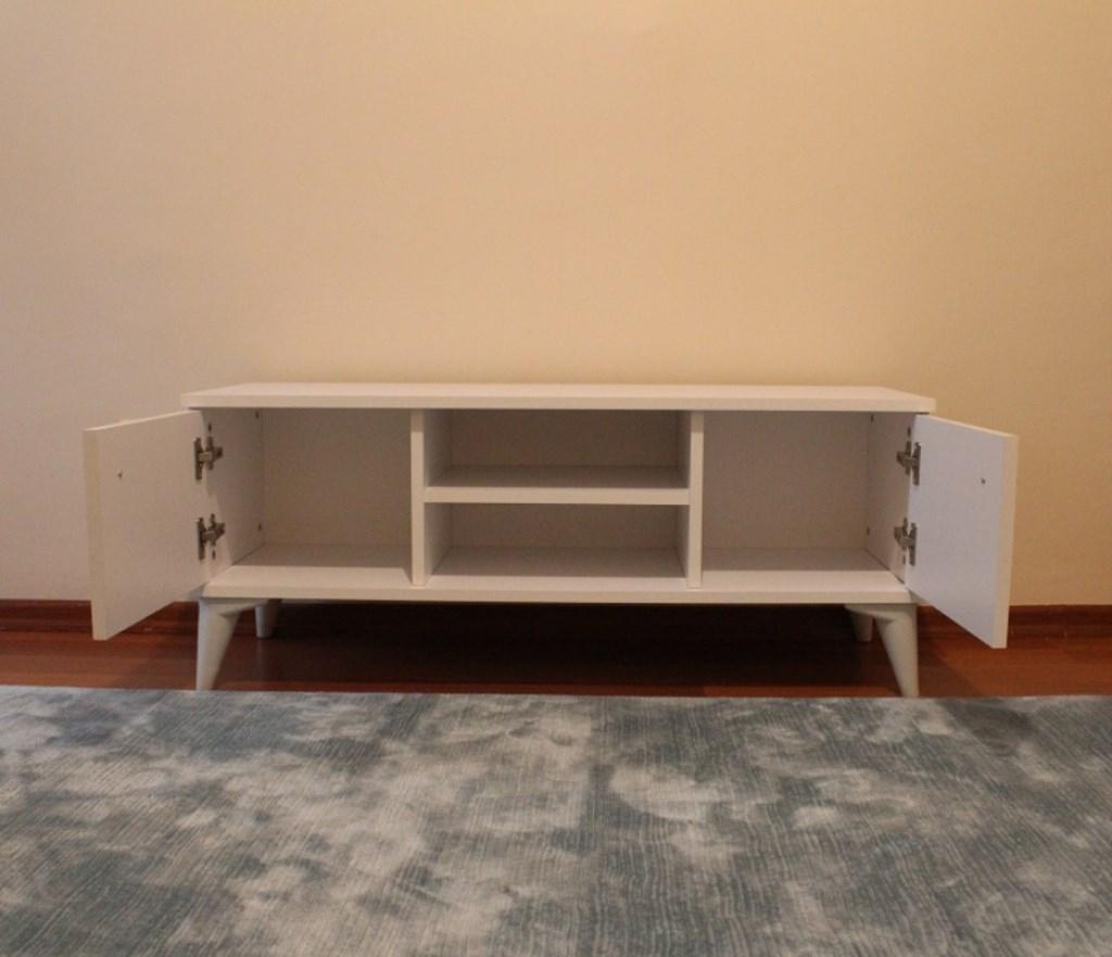 Beyaz 110 Cm Tv Sehpasi Modelleri Ve Fiyatı – Dekopasaj tout Tv 110 Cm