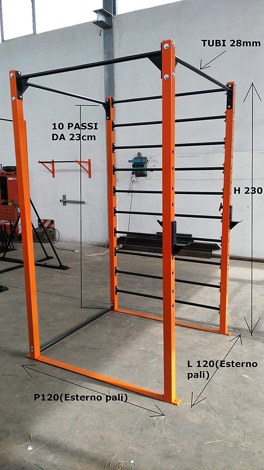 Bodystrongfitness Cage, Structure, Espalier, Squat tout Barre De Traction Jardin