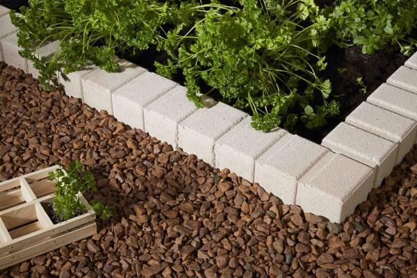 Bordure Béton Vauban - Bordure Jardin - Penez Herman pour Bordure De Jardin Castorama