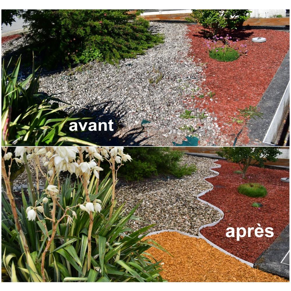 Bordures - Volige Jardin Pvc Blanc Souple Pas Chères concernant Bordure Jardin Pas Cher