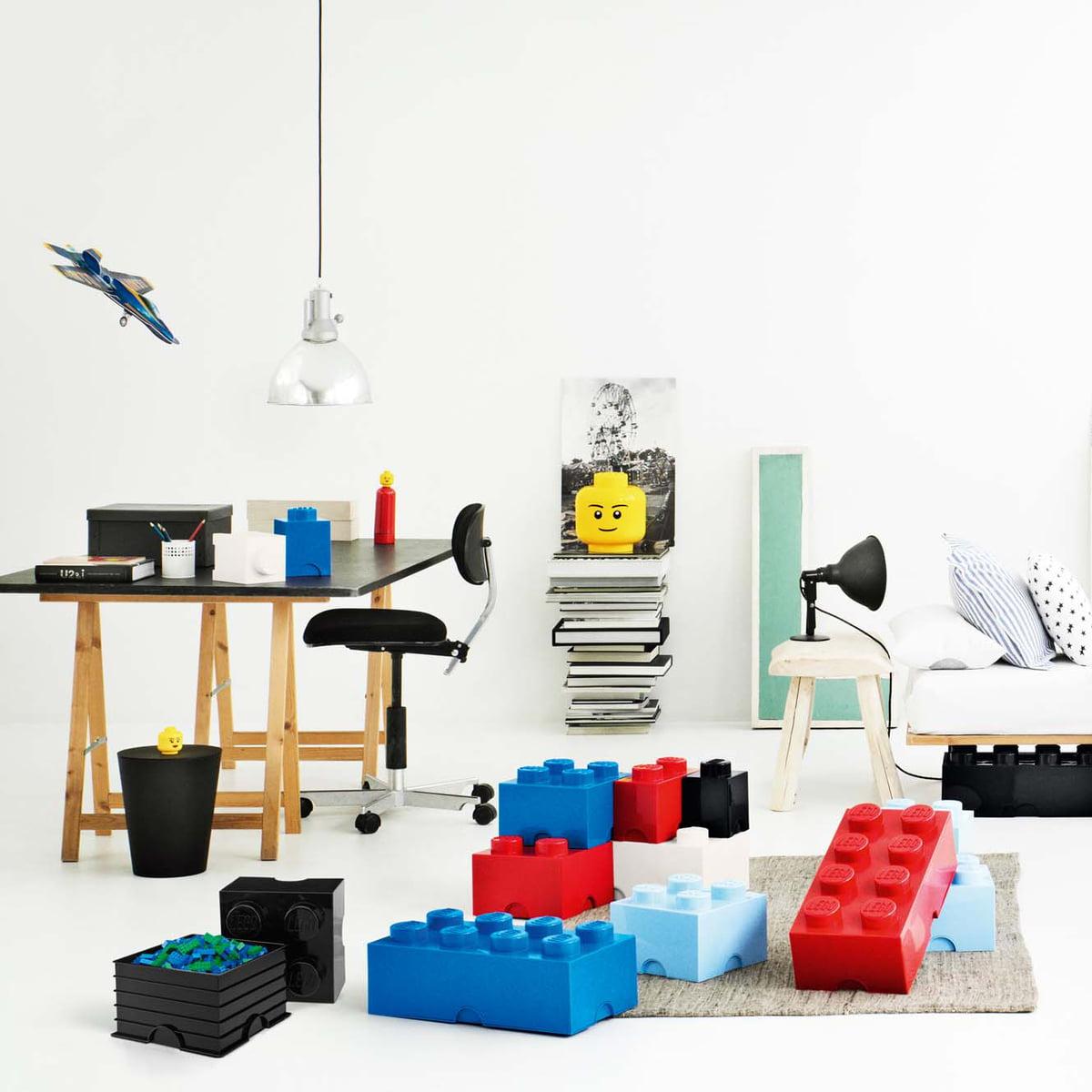 Brique De Rangement 1 De Lego | Connox pour Meuble Lego