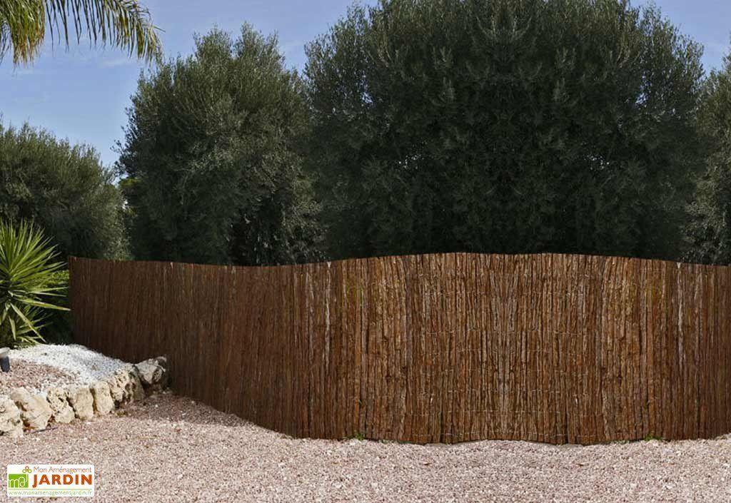 Brise-Vue, Clôture Naturelle - Mon Aménagement Jardin encequiconcerne Ecorces Jardin