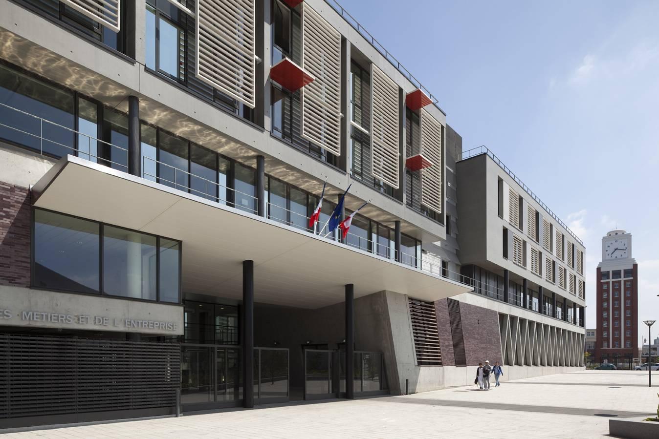 Bruno Gaudin - Architecte D.p.l.g. pour Chambre Des Metiers Bobigny
