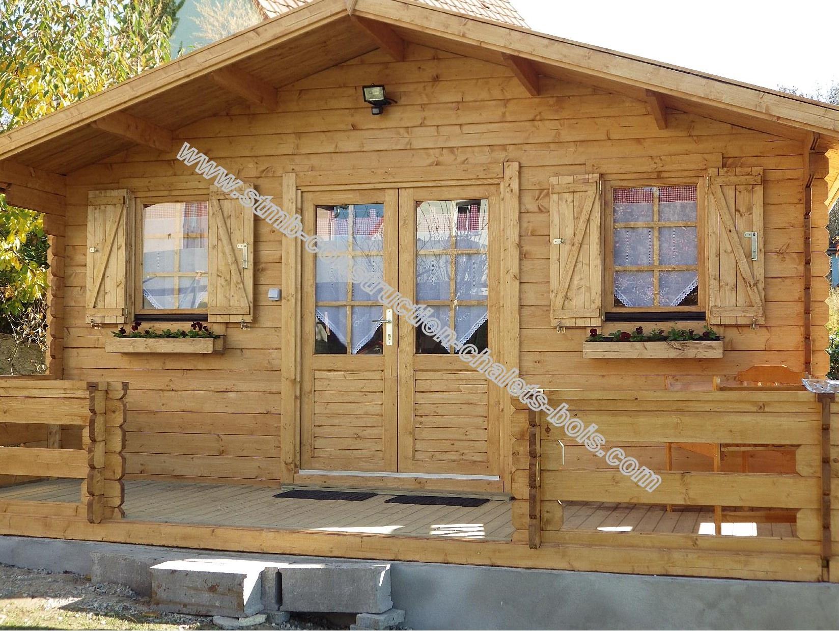 Cabane De Jardin 20M2 | Stmb-Construction-Chalets-Bois concernant Abri De Jardin Bois 20M2