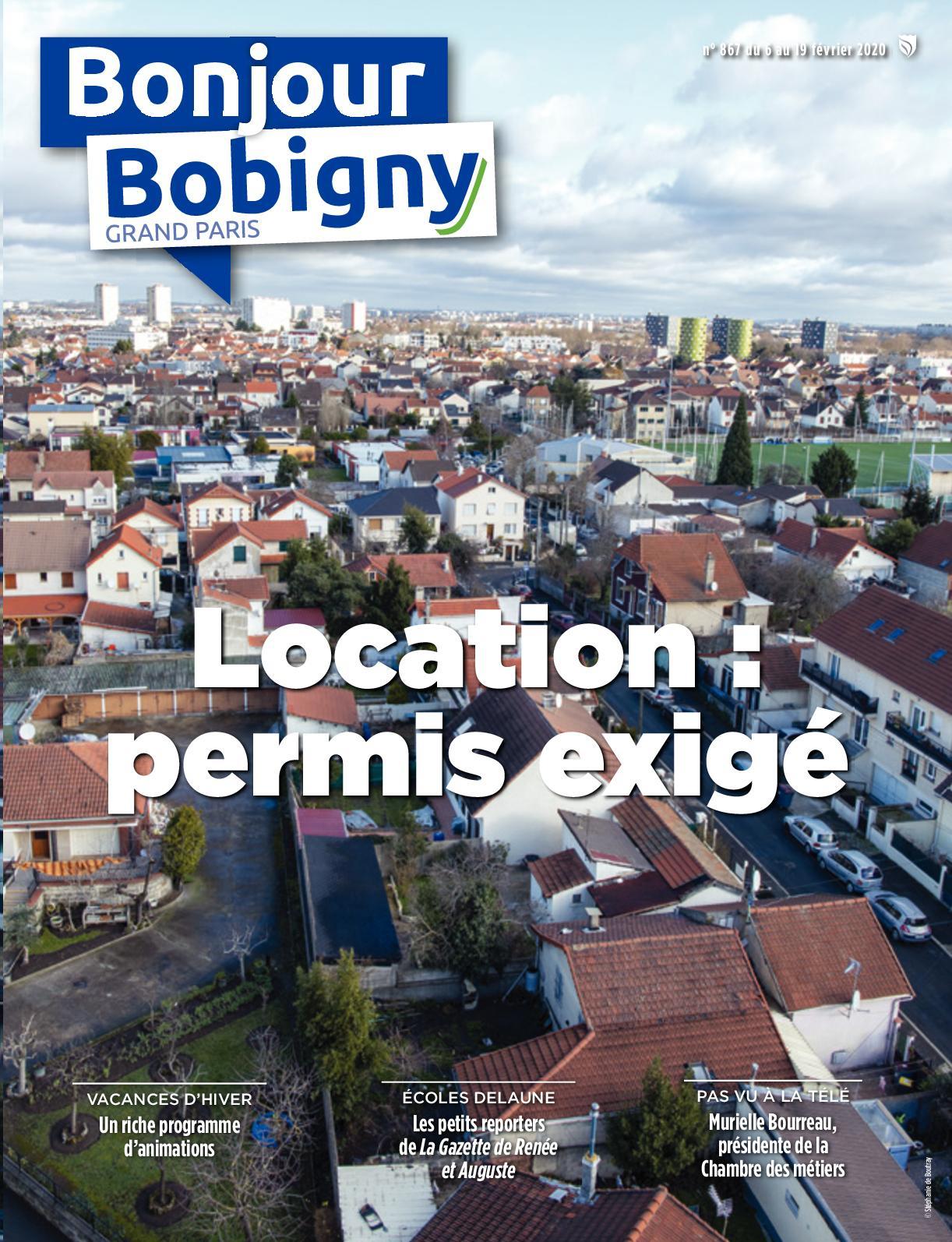 Calaméo - Bonjour Bobigny N°867 Du 6 Au 19 Février 2020 dedans Chambre Des Metiers Bobigny