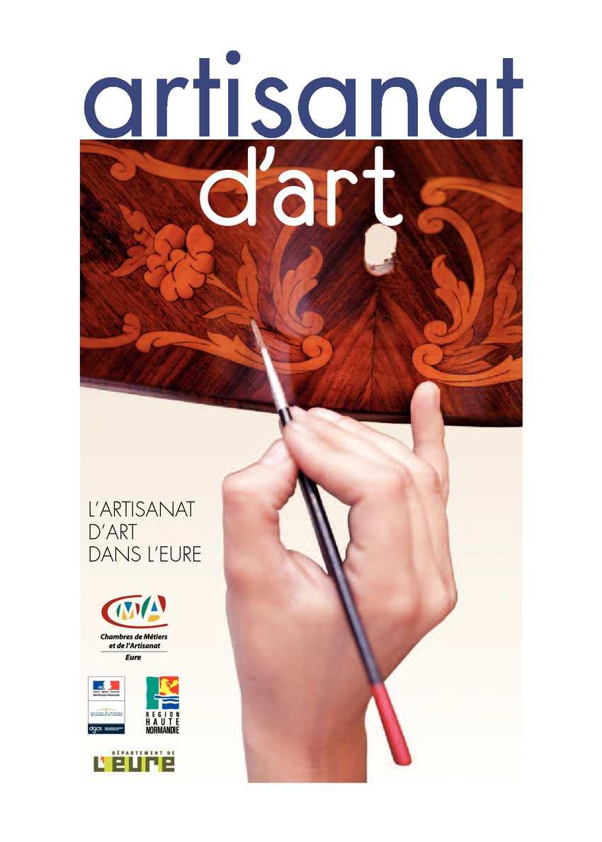 Calaméo - Catalogue Des Artisans D'art De L'eure serapportantà Chambre Des Metiers De L Eure