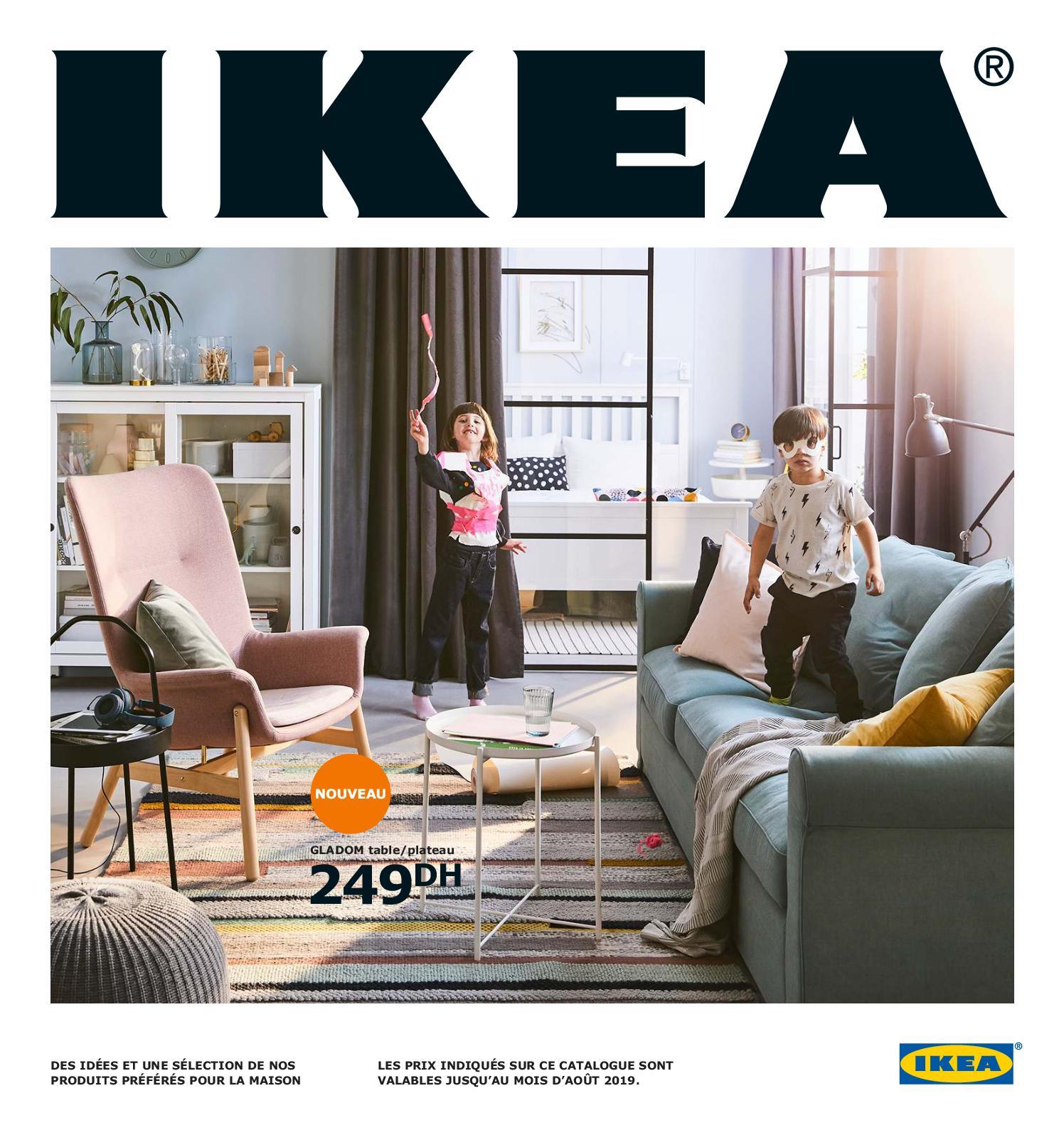 Calaméo - Catalogue Ikea Maroc 2019 destiné Table Salle A Manger Pliante Ikea