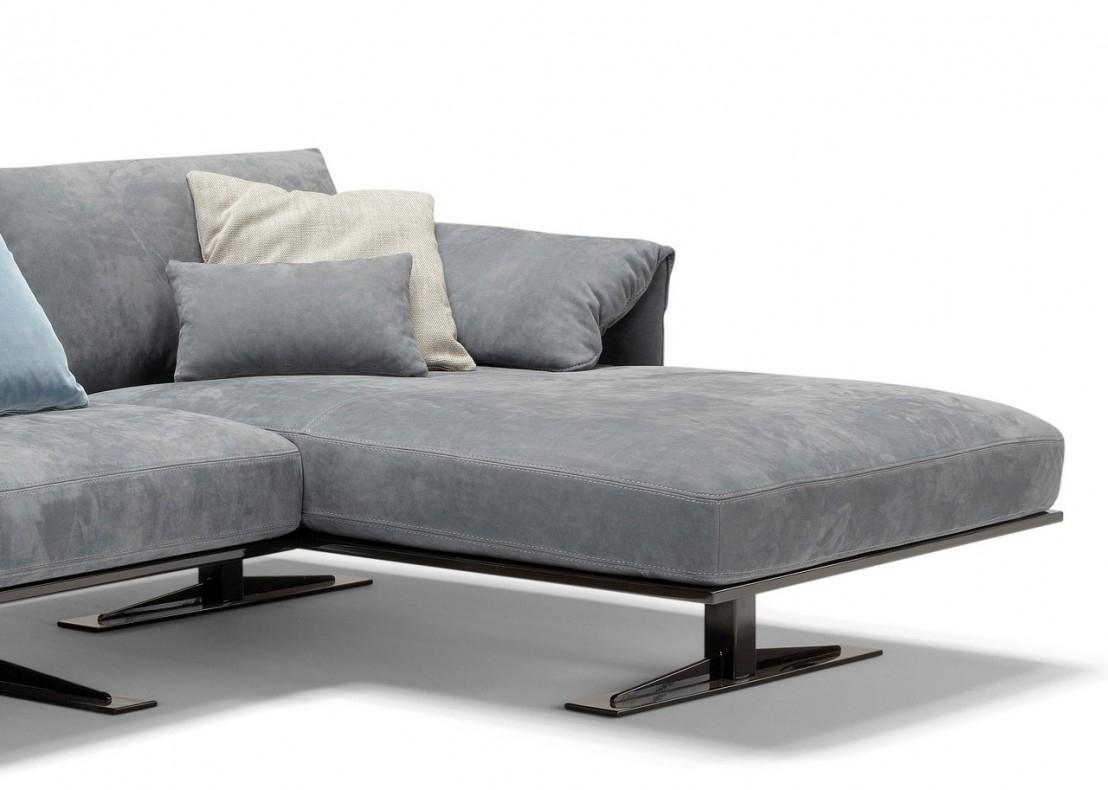 Canapé Angle Cuir Rahman.dk, Version Chaise Longue 3 Places avec 3 Suisses Canapé D'Angle