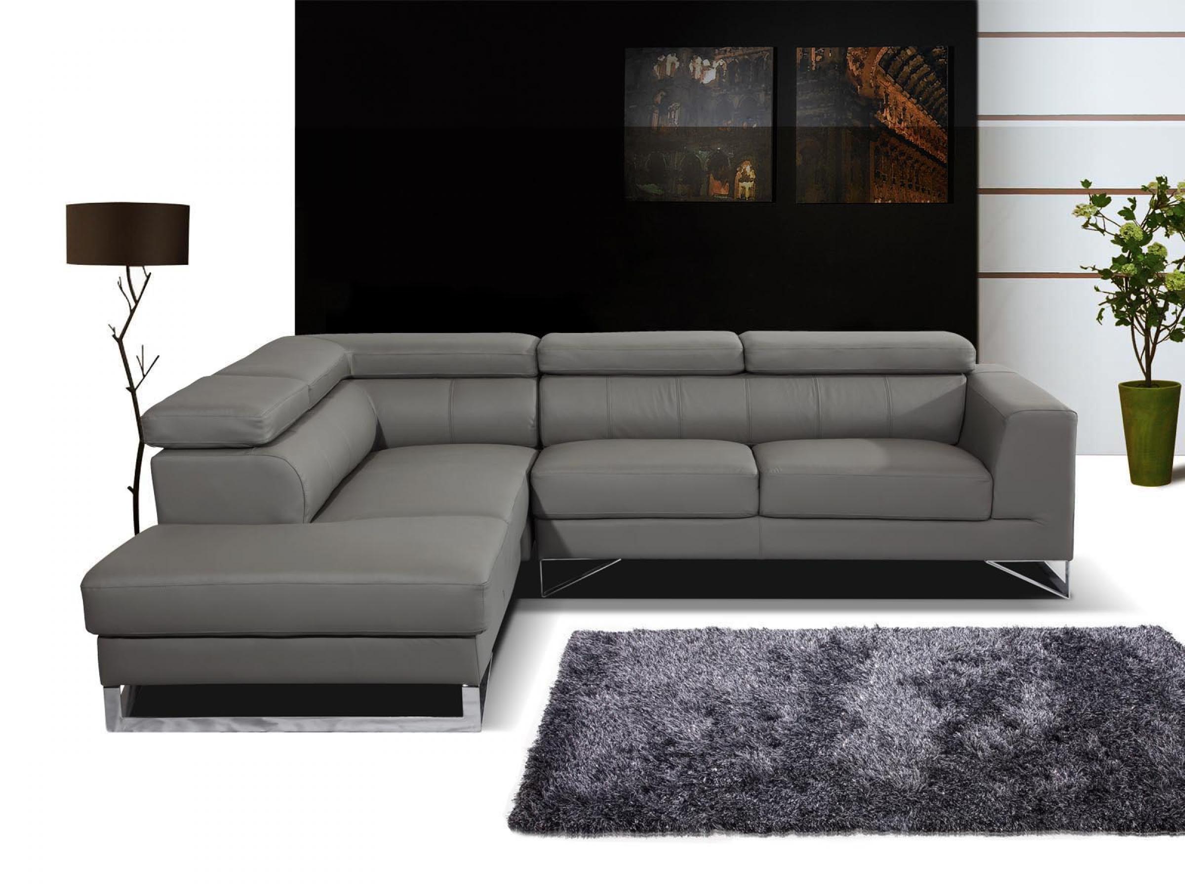 Canape Cuir Gris Conforama – Table De Lit avec Canapé Cuir Relax Électrique Conforama