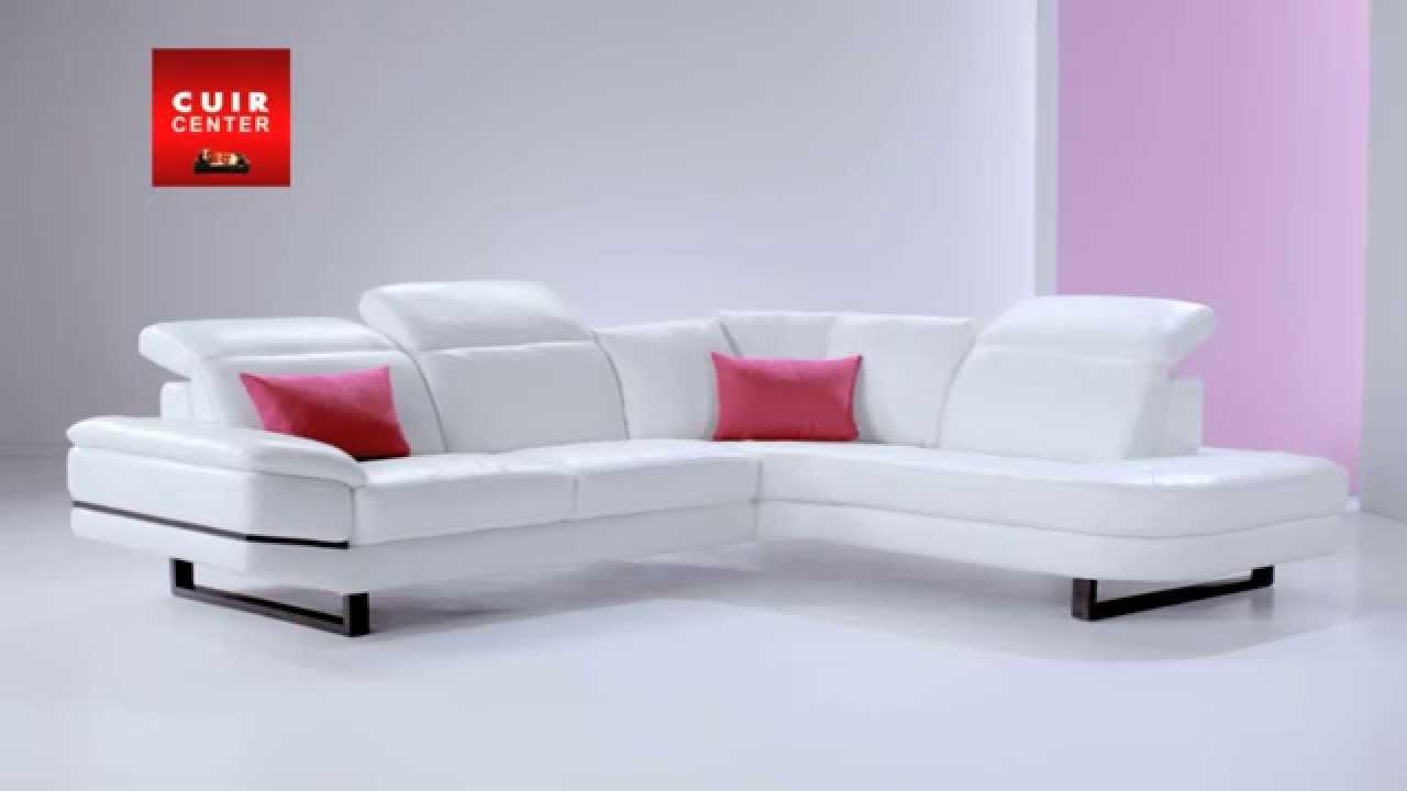 Canape D Angle Convertible Cuir Center - Booxmaker.fr serapportantà Reparer Canape Simili Cuir Griffe Chat