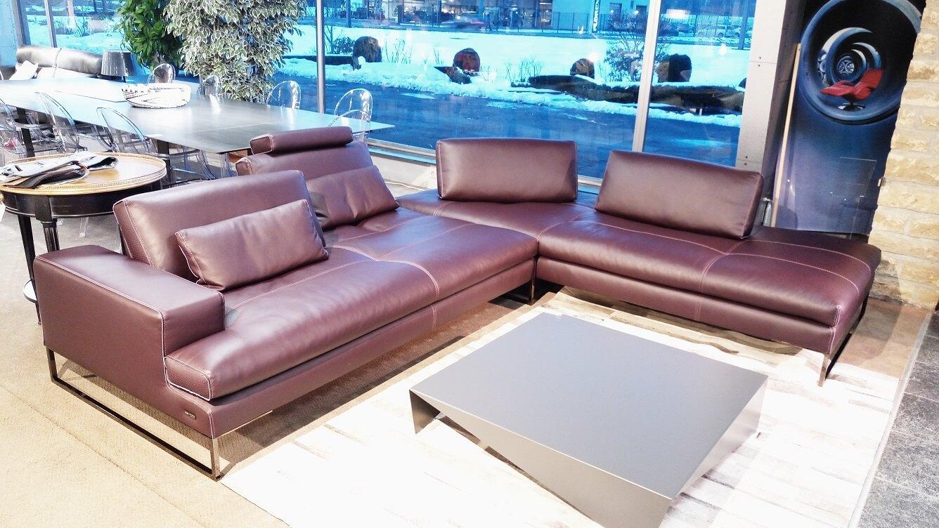 Canapé D'Angle - Cuir Et Design tout Magasin De Meuble Barentin