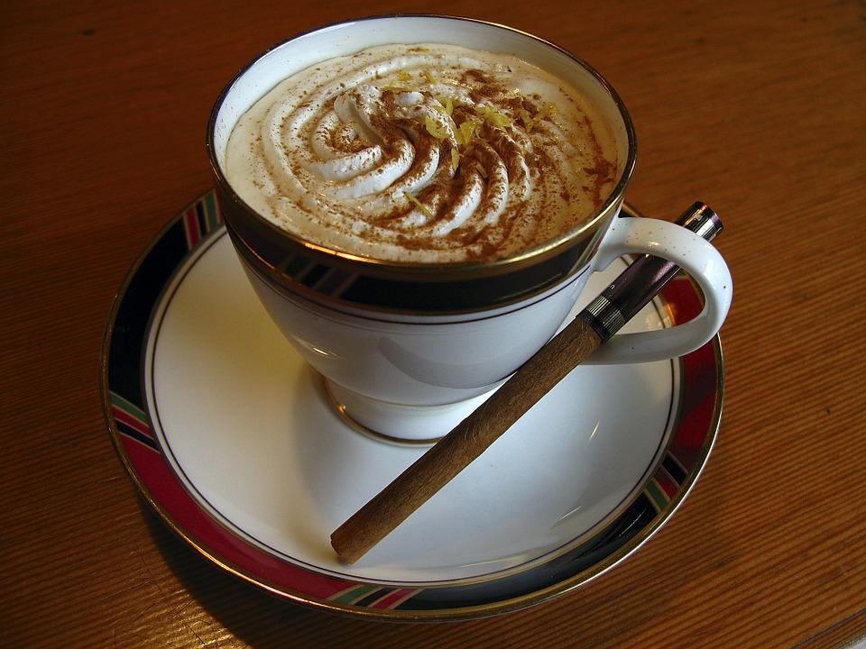 "Cappuccino Cinnamon Cup · Free Photo On Pixabay pour Cappuccino"""