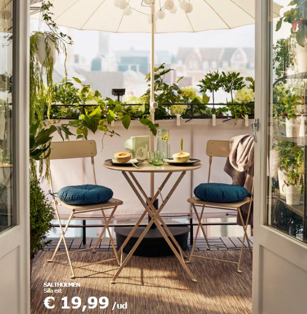 Catálogo Muebles Jardín Ikea: Precios Ofertas 2018 dedans Salon De Jardin Ikea