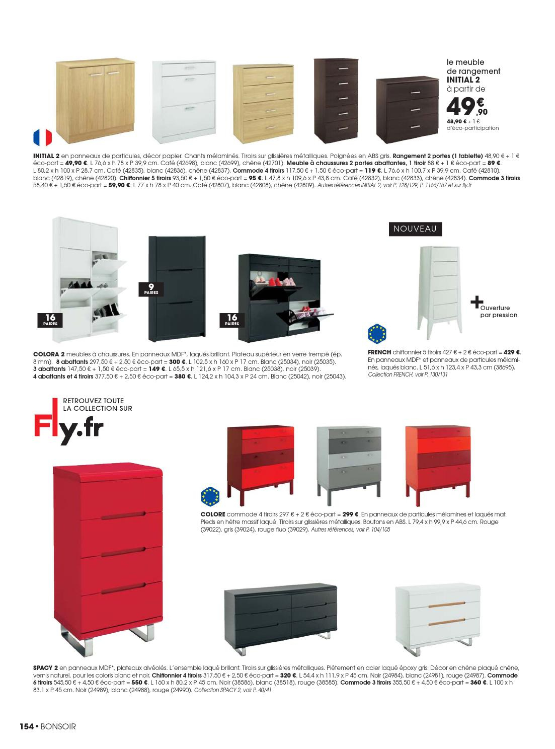 Catalogue Fly - Collection 2013/2014 By Joe Monroe - Issuu destiné Meuble À Chaussures Fly
