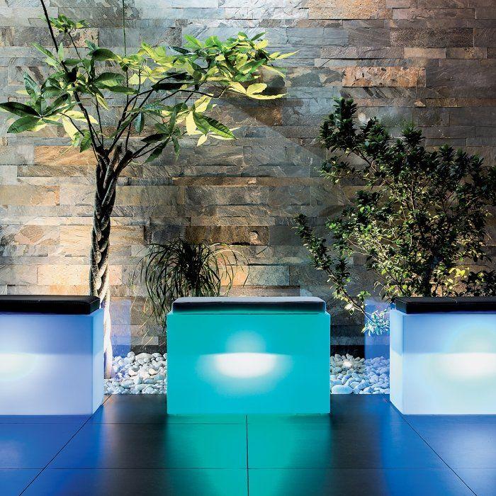 Ce Banc Lumineux Exterieur Led Rgb Avec Batterie De avec Salon De Jardin Lumineux