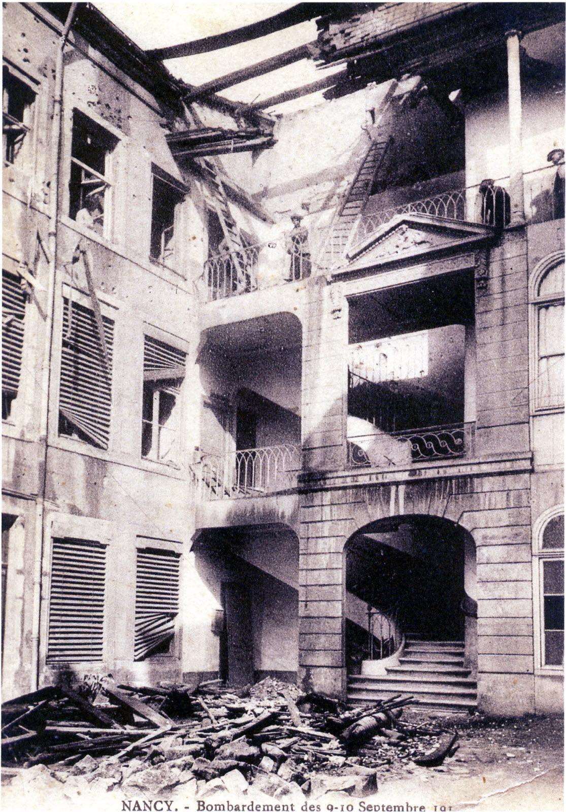 Centenaire 14-18 | La Guerre 14-18 En Images à 31 Rue Lionnois Nancy
