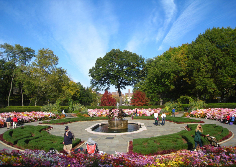 Central Park, The Most Famous Park In New York, United avec Opbouw Tuinhuis Gardenas New York