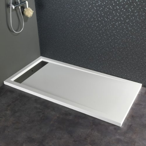 C'est Quoi Déjà Un Receveur En Solid Surface encequiconcerne Receveur Extra Plat 140X90