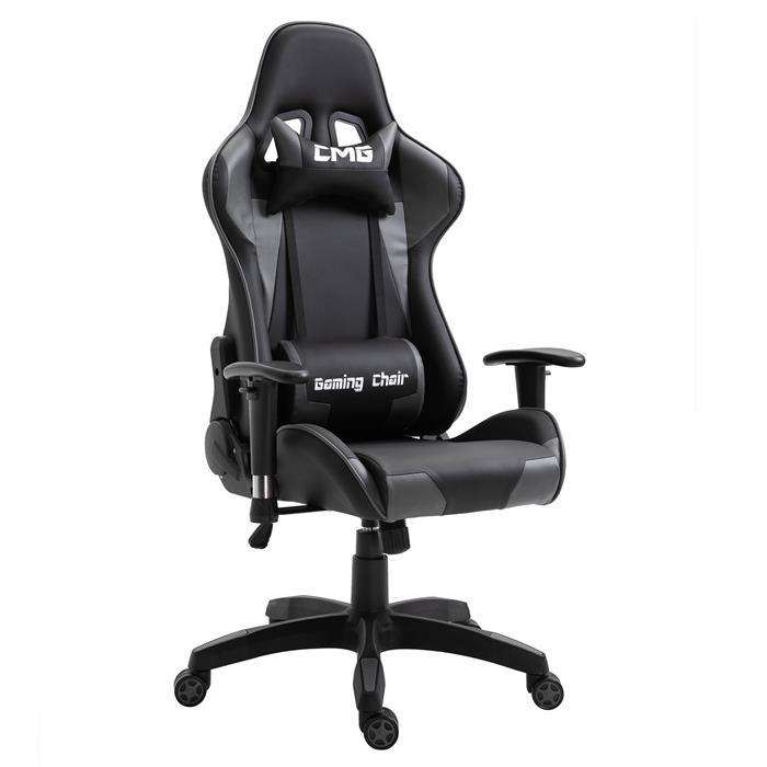 Chaise De Bureau Gaming, Revêtement Synthétique Noir Et dedans Meuble Gaming