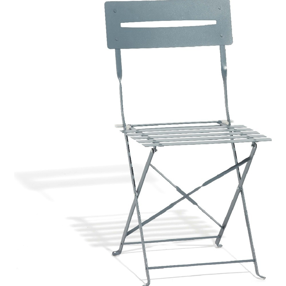 Chaise De Jardin Pliante Métal Gris - Chaise Et Banc De encequiconcerne Chaise Chilienne Gifi