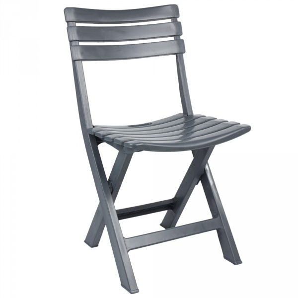 Chaise De Jardin Pliante Plastique Gris - Mobilier De tout Chaise De Jardin Pliante Pas Cher