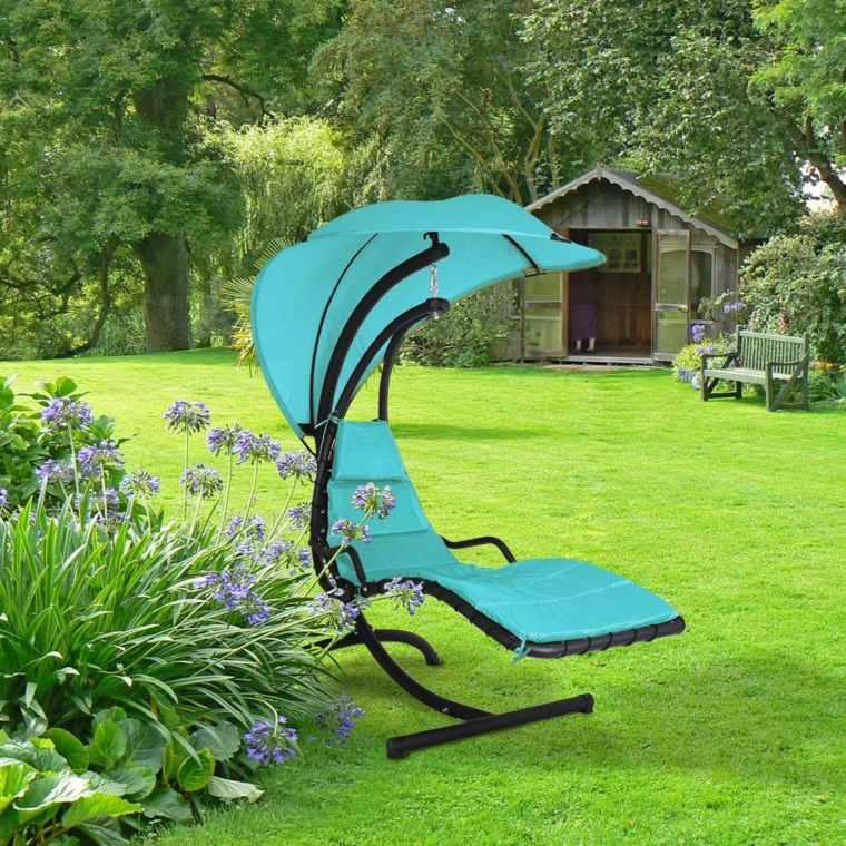 Chaise Longue Suspendue Et Fauteuil Relax concernant Chaise Suspendue Jardin