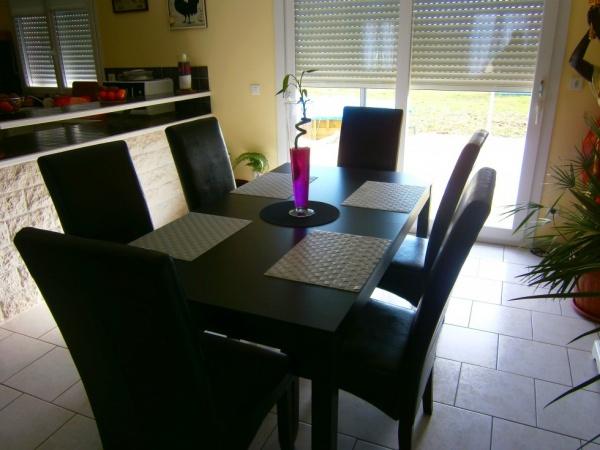 Chaise Table A Manger Ikea – Table De Lit tout Table Salle A Manger Ikea