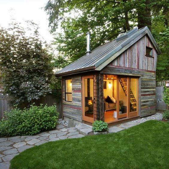 Chalet De Jardin Habitable – Alternatives Pour Gagner destiné Abri De Jardin Habitable