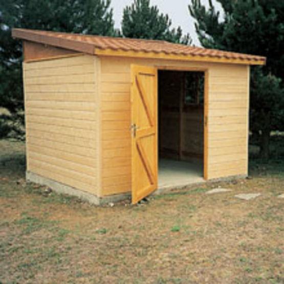 Chalet De Jardin Ossature Bois destiné Abri Jardin 3M2