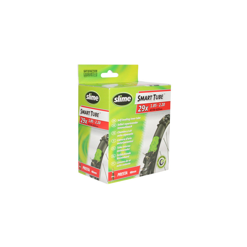 Chambre A Air Velo 29 X 1.75-2.25 Slime Valve Presta Avec destiné Chambre A Air Velo Anti Crevaison