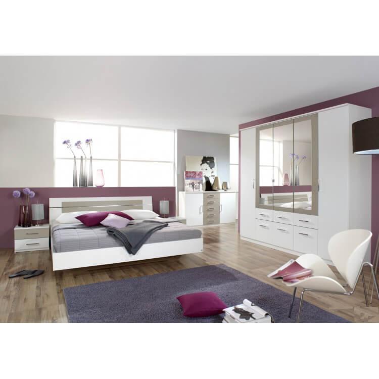 Chambre Adulte Design Carla | Matelpro concernant Meuble Carla