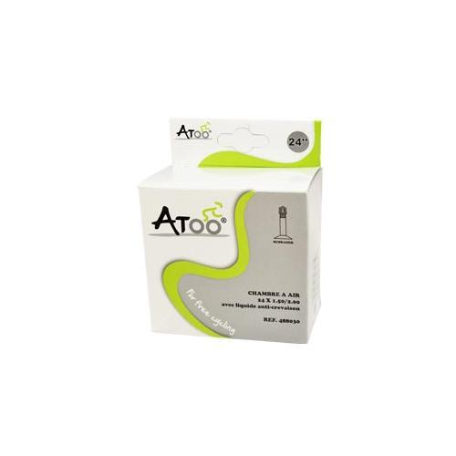 Chambre Air Vtt 24X1.5/2.00 Vs Avec Liquide Anti-Crevaison dedans Chambre A Air Velo Anti Crevaison