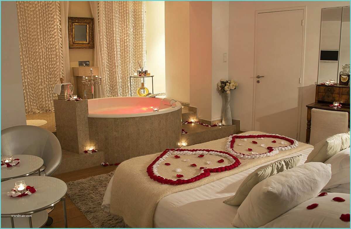 Chambre D Hotel Avec Jacuzzi Bordeaux Week End Romantique intérieur Chambre D Hotel Avec Jacuzzi Privé