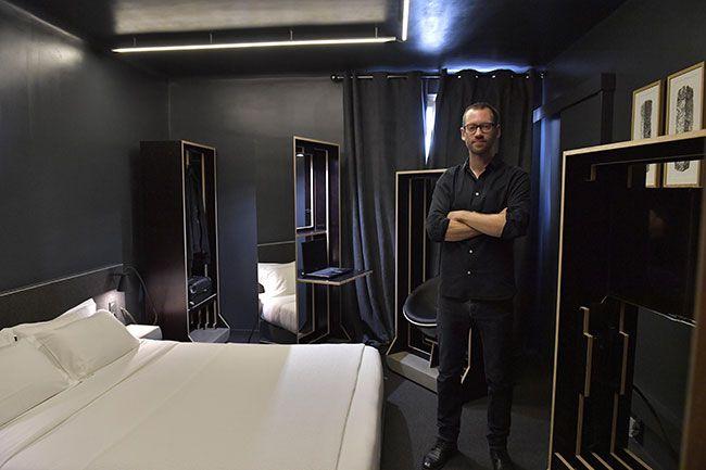 Chambre D'Artiste De L'Hôtel Le Cambronne | Nantes serapportantà Chambre Des Métiers Nantes
