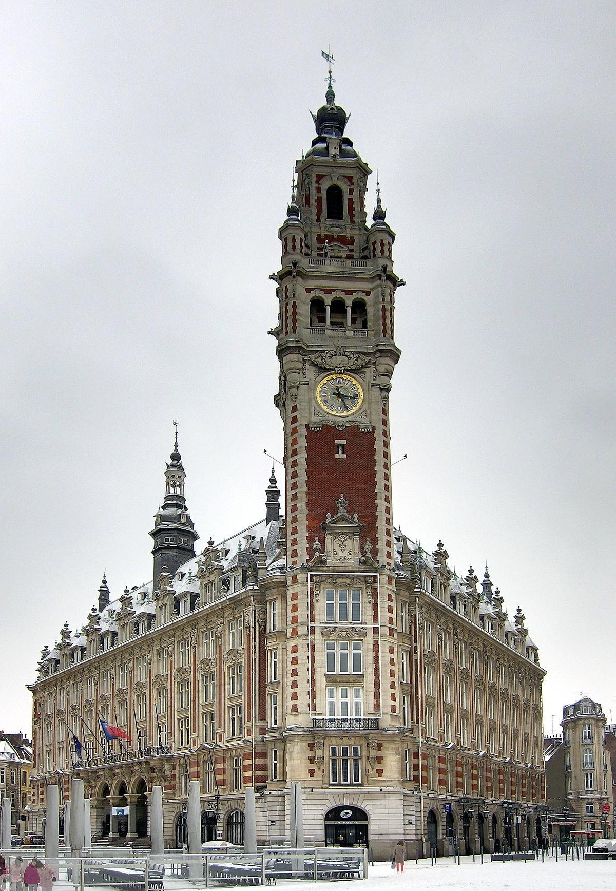 Chambre De Commerce Et D'Industrie Grand Lille — Wikipédia encequiconcerne Chambre Des Métiers Lille