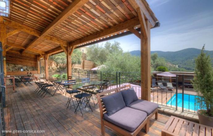 Chambre D'Hôtes Casa Maredda À Porticcio - Location De avec Chambre D Hotes Corse Du Sud