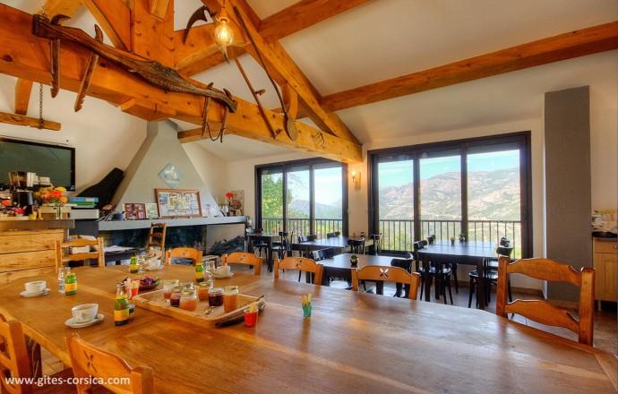 Chambre D'Hôtes U San Larenzu À Aullene - Location De destiné Chambre D Hotes Corse Du Sud