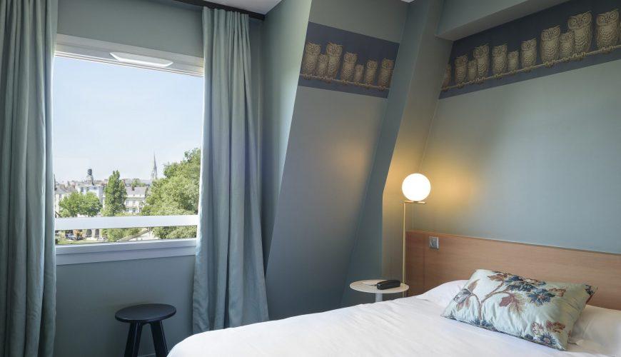 Chambre Supérieure - Hôtel Nantes Centre & Gare - L'Hotel tout Chambre Des Métiers Nantes