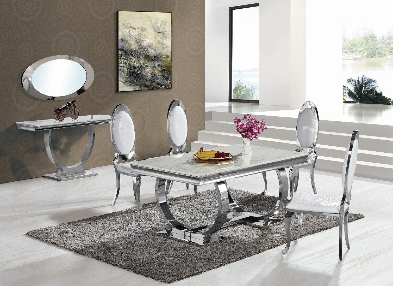 Chine Meubles De Salle À Manger Moderne Haut De Marbre Table serapportantà Table Salle A Manger En Marbre