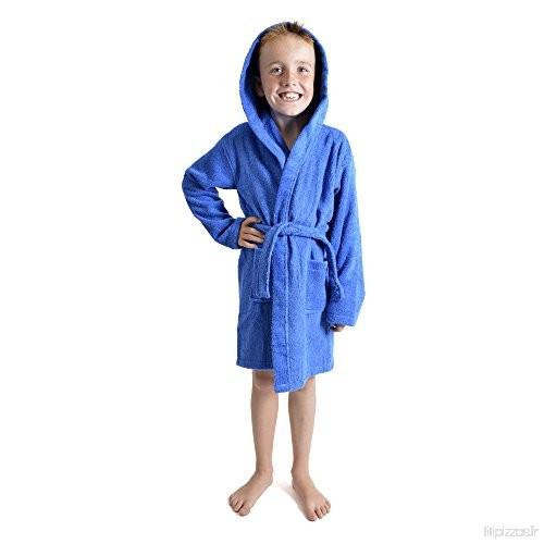 Citycomfort Peignoir Pour Enfants Petit Garçon Fille Avec concernant Robe De Chambre Garçon 12 Ans