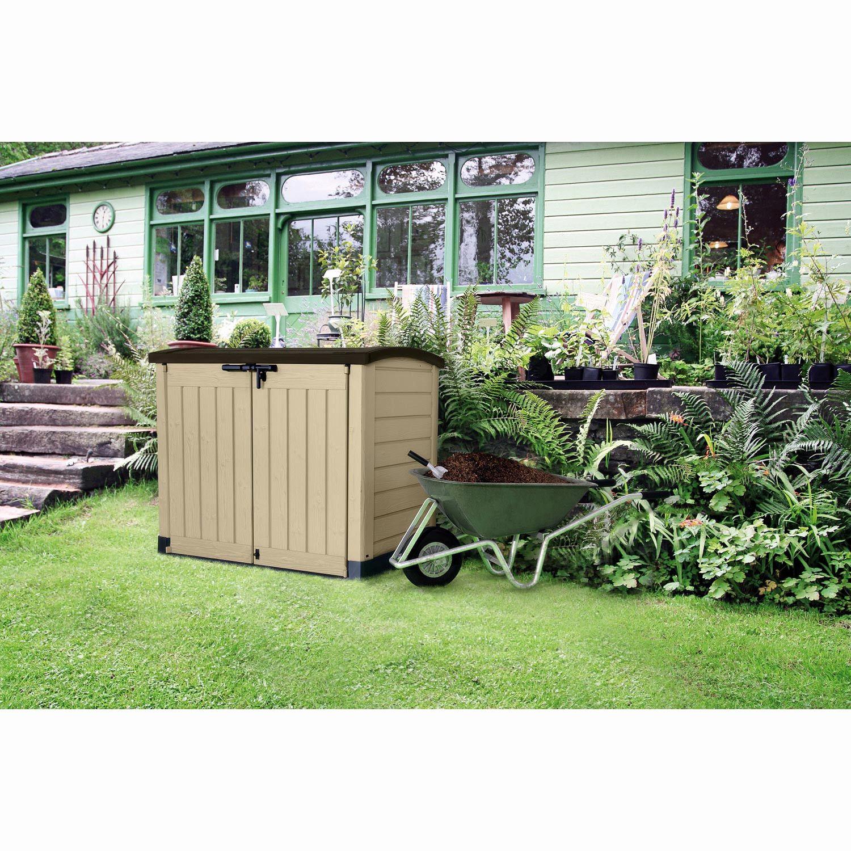 Coffre De Jardin Grande Dimension Luxe Support Sac tout Coffre Jardin Brico Depot