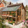 Combiné Serre Et Abris De Jardin pour Abri De Jardin 18M2