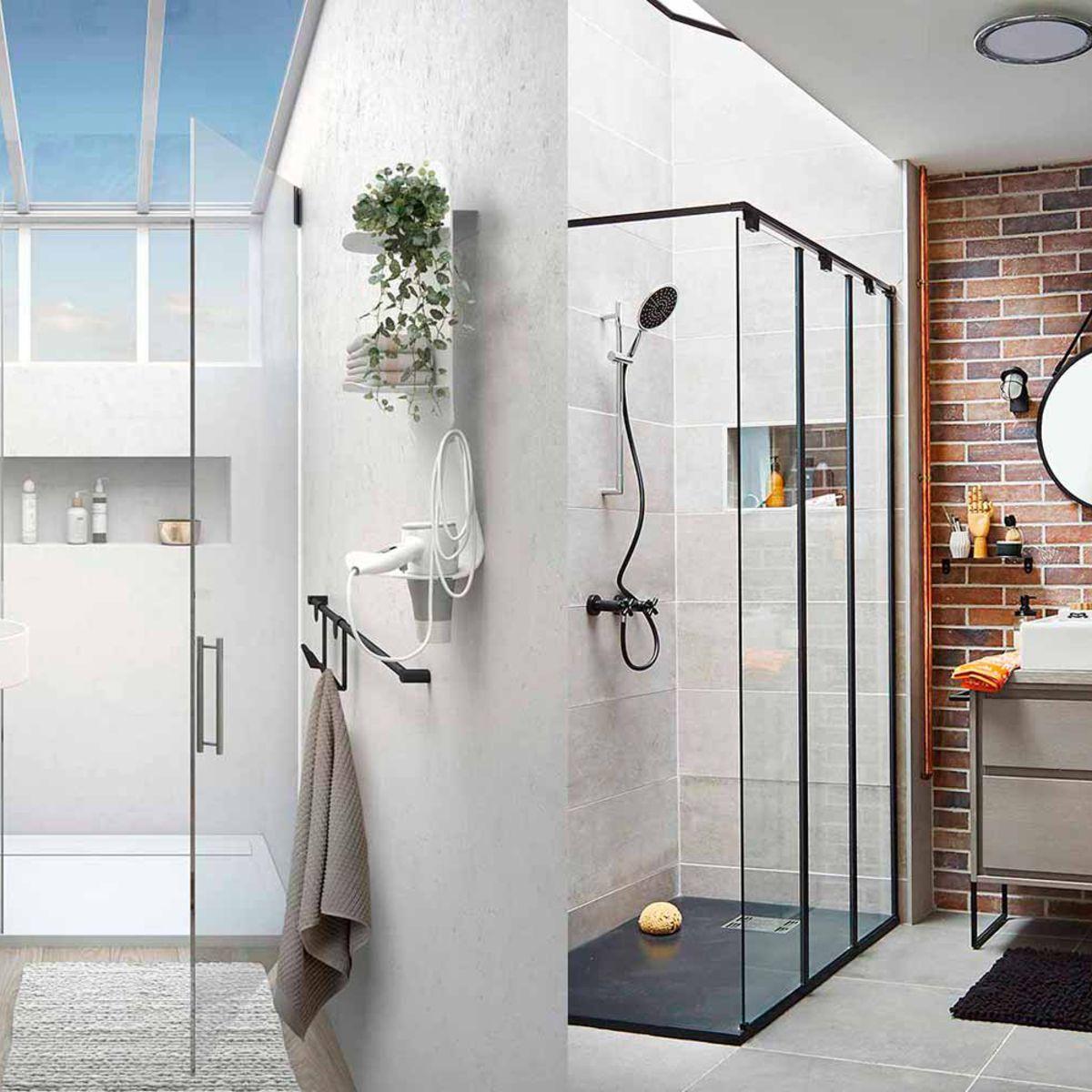 Comment Aménager Une Douche Dans Une Petite Salle De Bains à Modèle De Salle De Bain Avec Douche