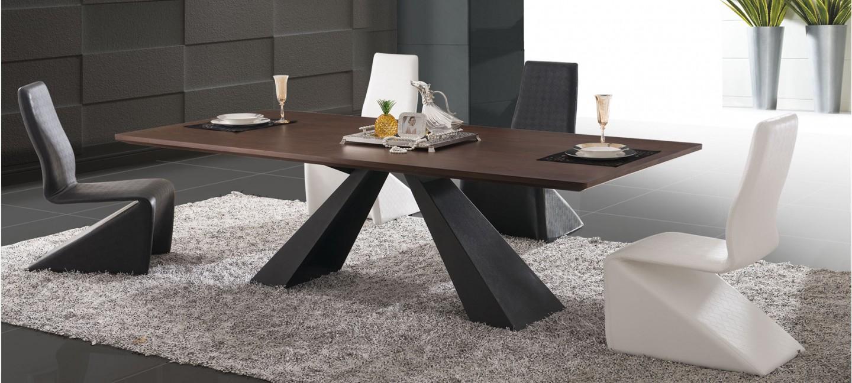 Comment Choisir Sa Table Pour Un Salon Design ? - Tartifume Deco tout Table Salle À Manger Design Pas Cher